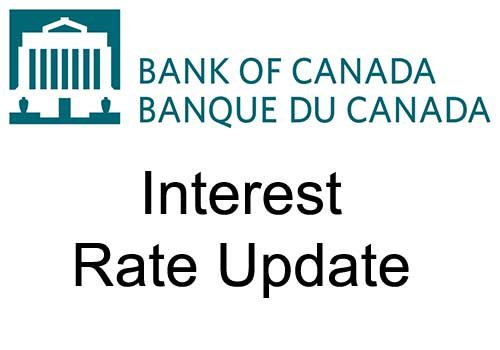 Bank of Canada will maintain current level of policy rate until inflation objective is achieved, recalibrates its quantitative easing program